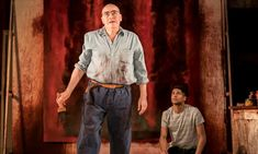 Alfred Molina and Alfred Enoch in Red at Wyndhams Theatre on 19 May Loved Molina! Michael Grandage, Alfred Enoch, Contemporary Plays, Alfred Molina, Mark Rothko, How To Stay Awake, How To Get Away, Drama Series, Theatre