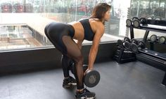 MICHELLE LEWIN Workout: Booty Blaster - Free Weights vs Machines…