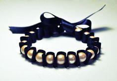 Bracelet perles en nacre