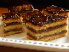 Hungarian Recipes, Hungarian Food, Tiramisu, Biscuits, Ethnic Recipes, Sweet, Dios, Candy, Kuchen