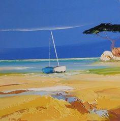 Torque - Christian Eurgal - knife painting - oil on canvas