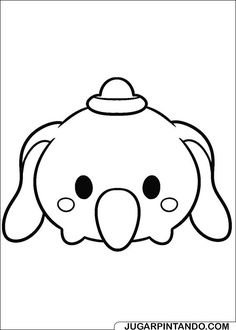 Coloring Page Tsum Dumbo