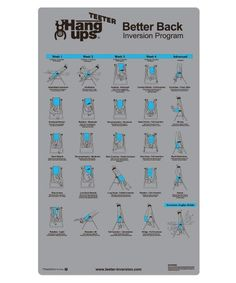 Teeter Better Back Inversion Program Mat by Teeter Hang Ups. Teeter Better Back Inversion Program Mat. One Size. Six Pack Abs Workout, Ab Workout At Home, At Home Workouts, Pool Workout, Ab Workouts, Posture Exercises, Back Exercises, Strength Training Equipment, No Equipment Workout