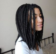 30 Short Box Braids Hairstyles For Chic Protective Looks