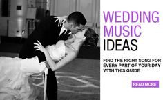 wedding music ideas: every table has a song. When that song plays, they have to hit the dancefloor
