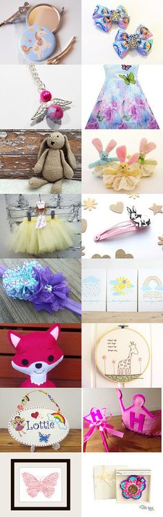 Little Girl's Dream by Kat Smith on Etsy