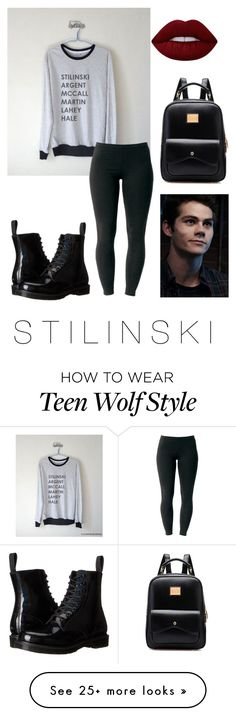 """""""S T I L E S S T I L I N S K I """" by peiweishei on Polyvore featuring Joe Browns, Dr. Martens and Lime Crime"""
