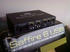VENDITA INTERFACCIA FOCUSRITE SAFFIRE 6 USB
