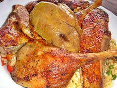 Nem vagyok mesterszakács: 10 + 2 legjobb töltött hús – dagadó, csirke, kacsa. Karácsonyi, szilveszteri menüajánlat Paella, Chicken Wings, Chicken Recipes, Turkey, Menu, Cooking Recipes, Fall Crafts, Foods, Drinks