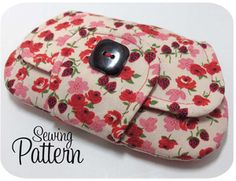 Clutch sewing pattern...really cool!!!