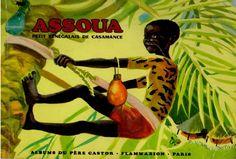 Père Castor, Assoua, petit sénégalais de Casamance, 1969
