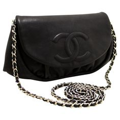 1d98f4698a50db Chanel Boutique Structured Shoulder Bag - Chanel Caviar Half Moon Woc  Wallet On Chain Shoulder Bag