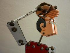 DAG Rotterdam! design & art gallery | Unknown | BAUHAUS metal toy man (Sold to UK)
