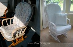 BEFORE & AFTER: Used Baby Furniture | Thrift Diving Blog