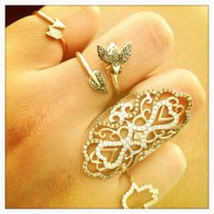 Love the big one on the ring finger.