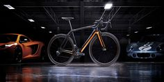 specialized collaborates with McLaren for the carbon fiber S-works tarmac bike