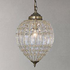 Buy John Lewis Dante Ceiling Light, Antique Brass Online at johnlewis.com