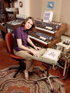 Vinyl and Other Delights - Wendy Carlos circa 1986