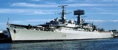 HMS Antrim ~ County Class cruiser. First ship I served on 1975