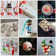 Plus de 70 décorations de Noël faites maison faciles à essayer maison faites faciles essayer decorations