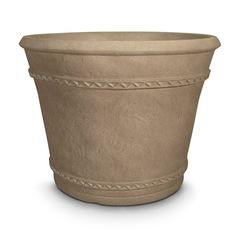 Grosfillex W x H Pietra Resin Planter at Lowe's. The classic design of the Tobego planter will make a beautiful addition to any home--indoors or out! Its distinctive finish will last for years without Resin Planters, Decorative Planters, Outdoor Planters, Indoor Outdoor, Barrel Planter, Planter Pots, Window Box Plants, Outdoor Bbq Kitchen, Screened In Patio