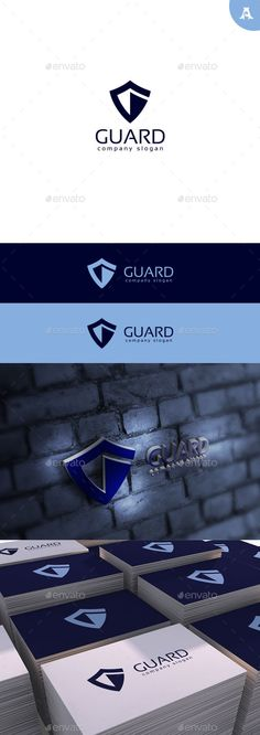 Guard Logo — Photoshop PSD #secure #identity • Available here → https://graphicriver.net/item/guard-logo/11428530?ref=pxcr