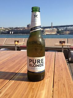 pure blonde australian beer