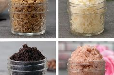 4 DIY Exfoliating Body Scrubs