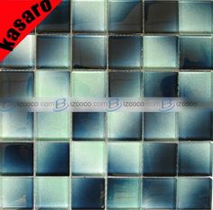 Got The Blues Check Out This Glass Mosaic From Daltile Serenade - Daltile memphis