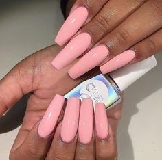 If you are obsessed with Pink Nails then you need to check these out! We have 55 of the Best Pink Nails for All of these nails are pink and beautiful. Sexy Nails, Hot Nails, Nails On Fleek, Pink Nails, Hair And Nails, Gorgeous Nails, Pretty Nails, Fabulous Nails, Best Nail Salon