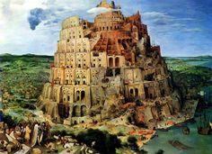 Bruegel, La Torre di Babele, 1563 ca.