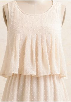 On The Dot Tiered Dress | Modern Vintage New Arrivals | Ruche