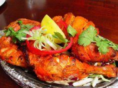 favorite Indian dish: Tandori Chicken