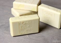 Castile soap is made with 100% olive oil, which creates a very mild and gentle bar of soap. Learn how to make castile soap from scratch in this tutorial.