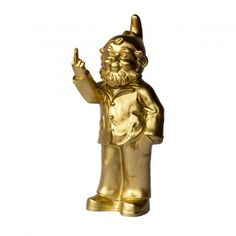 Ottmar Hörl Gartenzwerg Sponti gold online kaufen ➜ Bestellen Sie Gartenzwerg Sponti gold für nur 50,95€ im design3000.de Online Shop - versandkostenfreie Lieferung ab €!