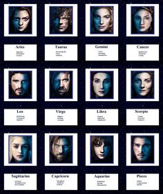 Game of Thrones Zodiac, I'm Dany again and in another version.
