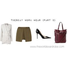 """Tuesday Work Wear (Part 2)"" by cookiek on Polyvore"