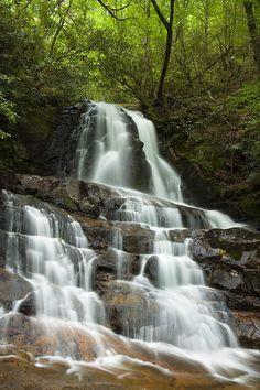 ✮ Laurel Falls - Smoky Mountain National Park
