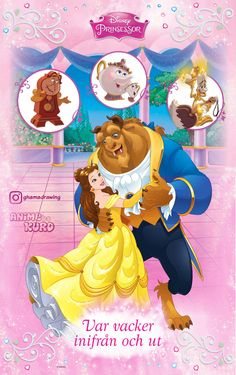 Disney Enchanted, Beauty And The Best, Beast, Disney Princess, Anime, Drawings, Anime Shows, Disney Princes, Disney Princesses
