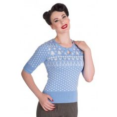 Pull Pin-Up Rétro Rockabilly 50's Katherine