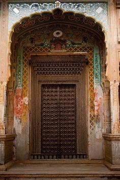 Medieval looking door