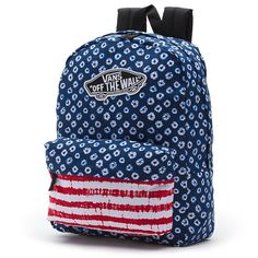 mochila Vans realm backpack dyed dots stripes