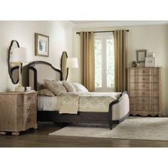 Hooker Furniture 5280-90010 Corsica Six Drawer Chest in Dark Wood