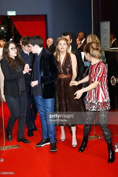 Photo d'actualité : Louane Emera and Marina Fois arrive at the 40th...