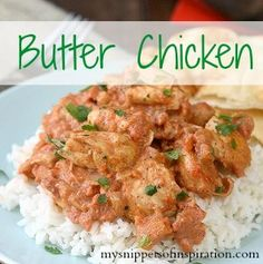 Butter Chicken for Slow Cooker is a mild, Indian-inspired slow cooker chicken recipe. One of the more creative slow cooker chicken recipes you'll find, it's made with ginger, cloves, almonds, yogurt, masala sauce, tomatoes, cream and more.