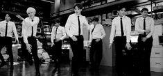 BTS take on various jobs for 'Dope' MV! | allkpop.com