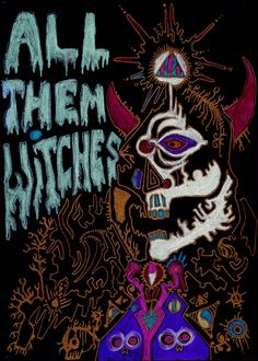 CLASSIC STICKER | All Them Witches