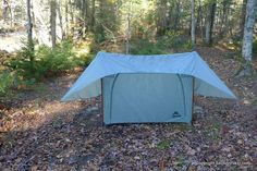MSR FlyLite 2 Person Trekking Pole Backpacking Tent Review - http://sectionhiker.com/msr-flylite-tent-review/