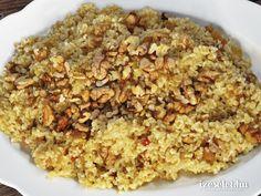 Édes mazsolás bulgur Fried Rice, Macaroni And Cheese, Oatmeal, Breakfast, Ethnic Recipes, Food, Bulgur, Mac Cheese, The Oatmeal