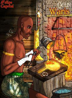 Ogun Warís (Wura-Irin), The Orisha goldsmith